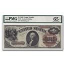 1880 $1.00 Legal Tender CU-65 EPQ PMG