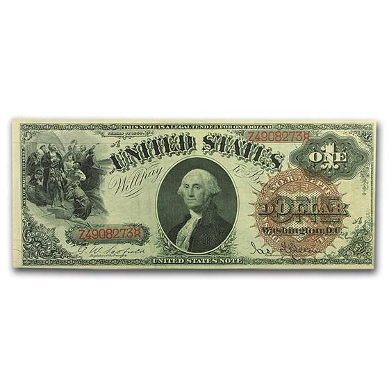 1880 $1.00 Legal Tender CU
