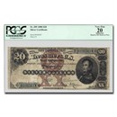 1880 $20 Silver Cert. Stephen Decatur VF-20 PCGS (Fr#309) App