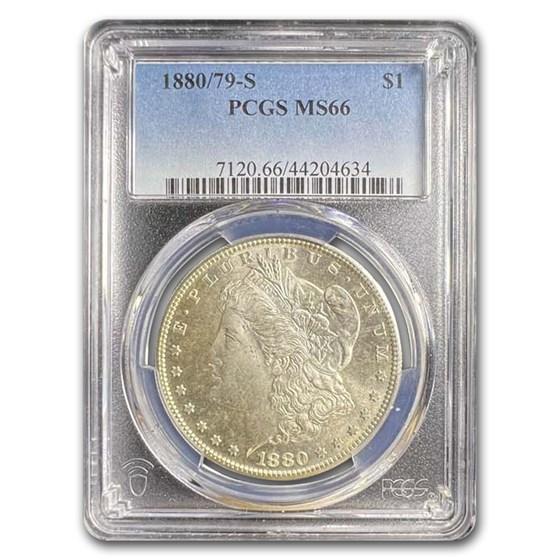 1880/79-S Morgan Dollar MS-66 PCGS