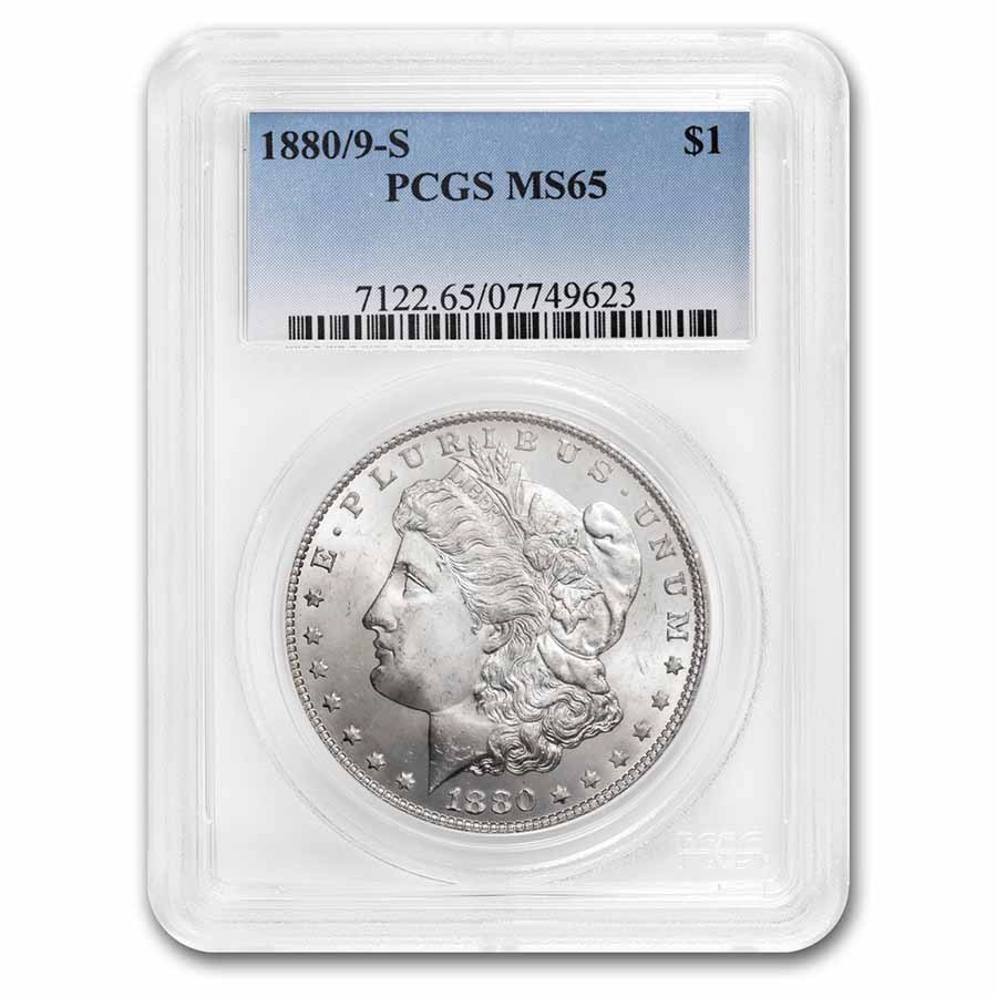 1880/9-S Morgan Dollar MS-65 PCGS