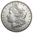1880-CC Morgan Dollar AU