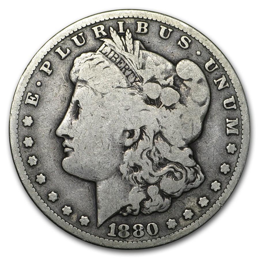 1880-CC Morgan Dollar Good