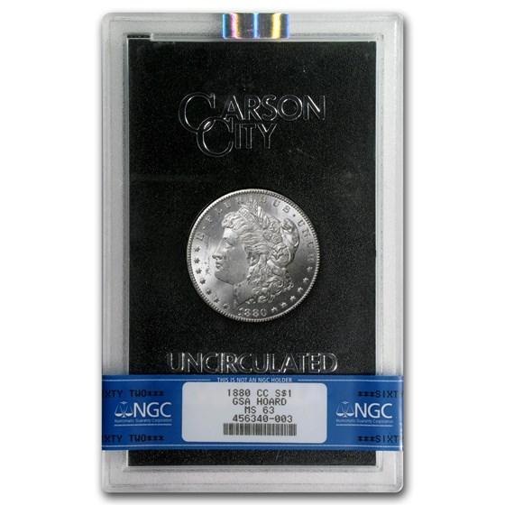 1880-CC Morgan Dollar MS-63 NGC (GSA)