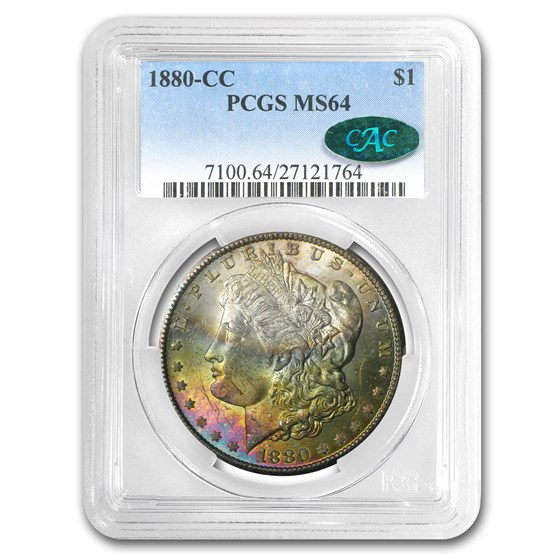 1880-CC Morgan Dollar MS-64 PCGS (CAC)