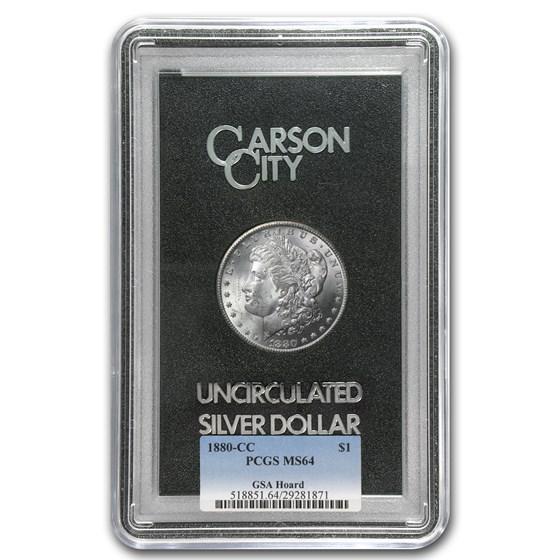 1880-CC Morgan Dollar MS-64 PCGS (GSA)