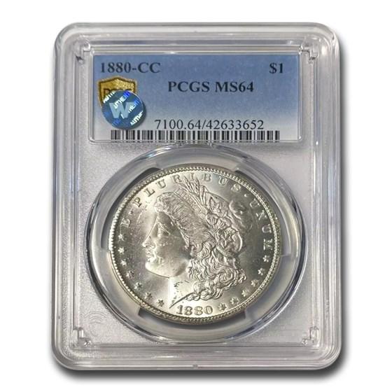 1880-CC Morgan Dollar MS-64 PCGS