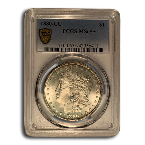 1880-CC Morgan Dollar MS-65+ PCGS