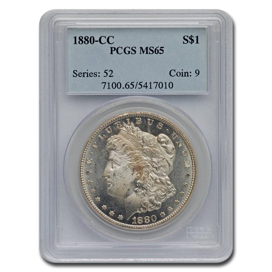 1880-CC Morgan Dollar MS-65 PCGS