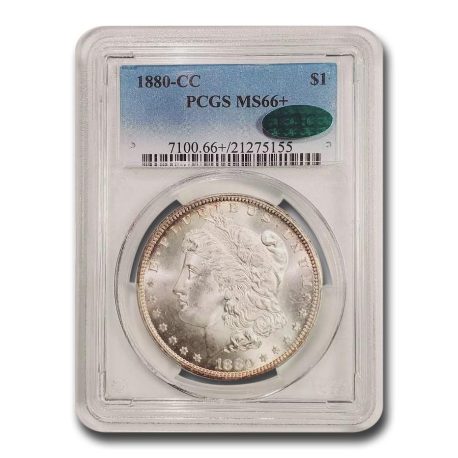 1880-CC Morgan Dollar MS-66+ PCGS CAC