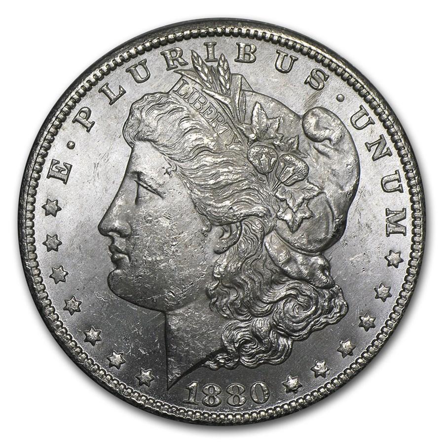 1880-CC Morgan Dollar Rev of 78 BU