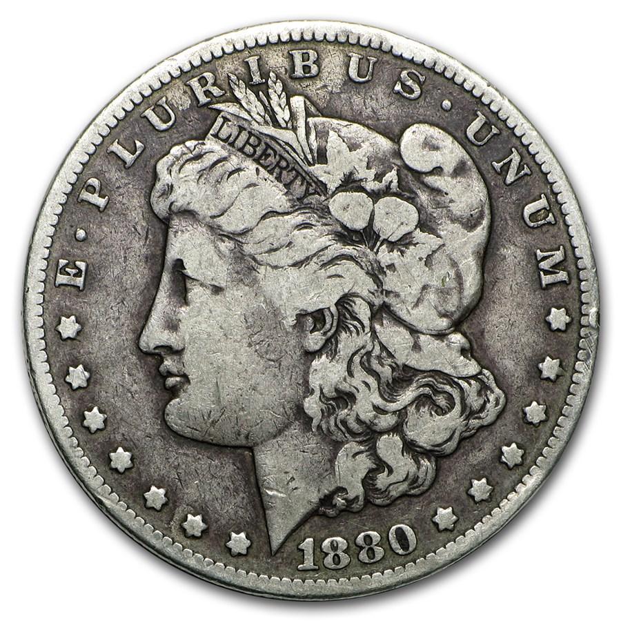 1880-CC Morgan Dollar VG