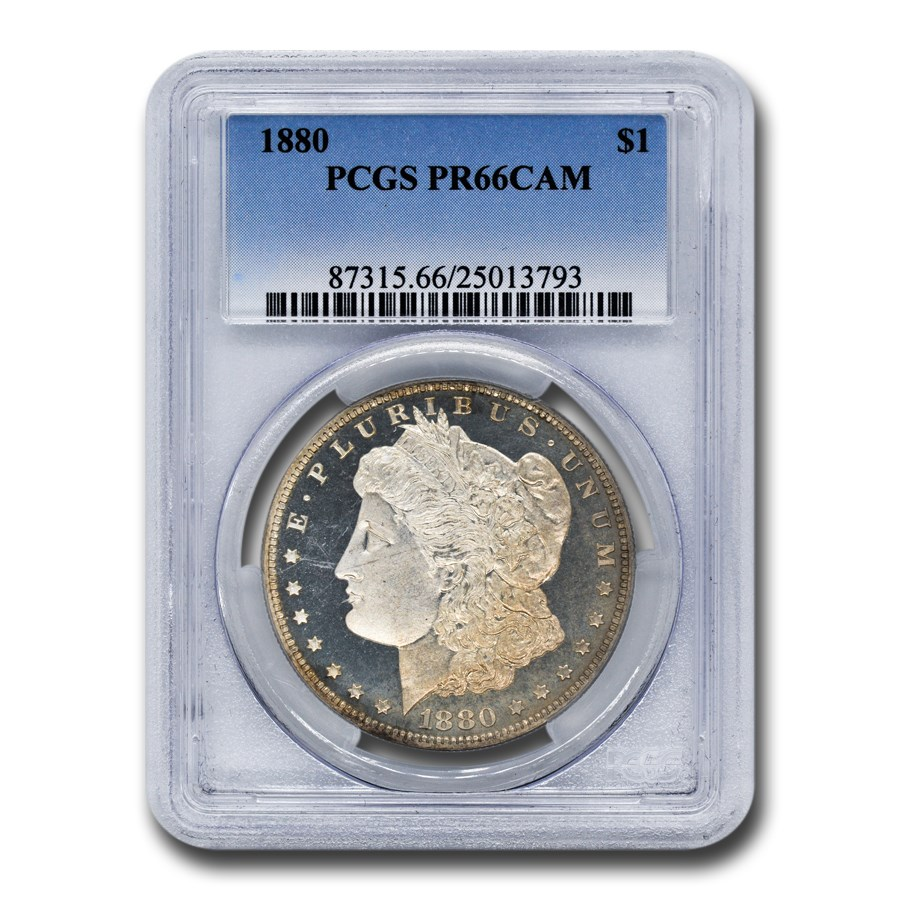 1880 Morgan Dollar PR-66 Cameo PCGS