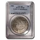 1880 Morgan Dollar XF-40 PCGS (VAM 1A Knobbed 8)