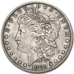 1880 Morgan Dollar XF