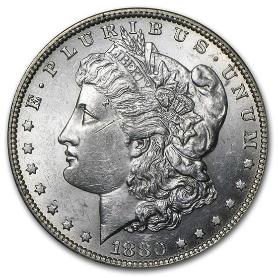 1880-O Morgan Dollar BU