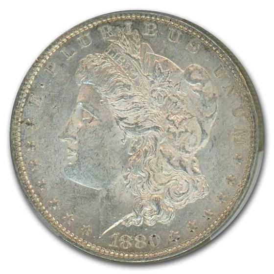 1880-O Morgan Dollar MS-61 PCGS