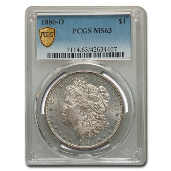 1880-O Morgan Dollar MS-63 PCGS