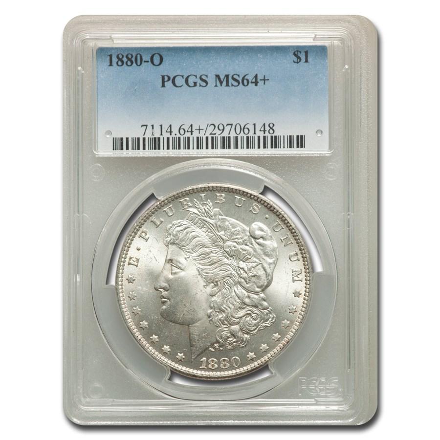 1880-O Morgan Dollar MS-64+ PCGS