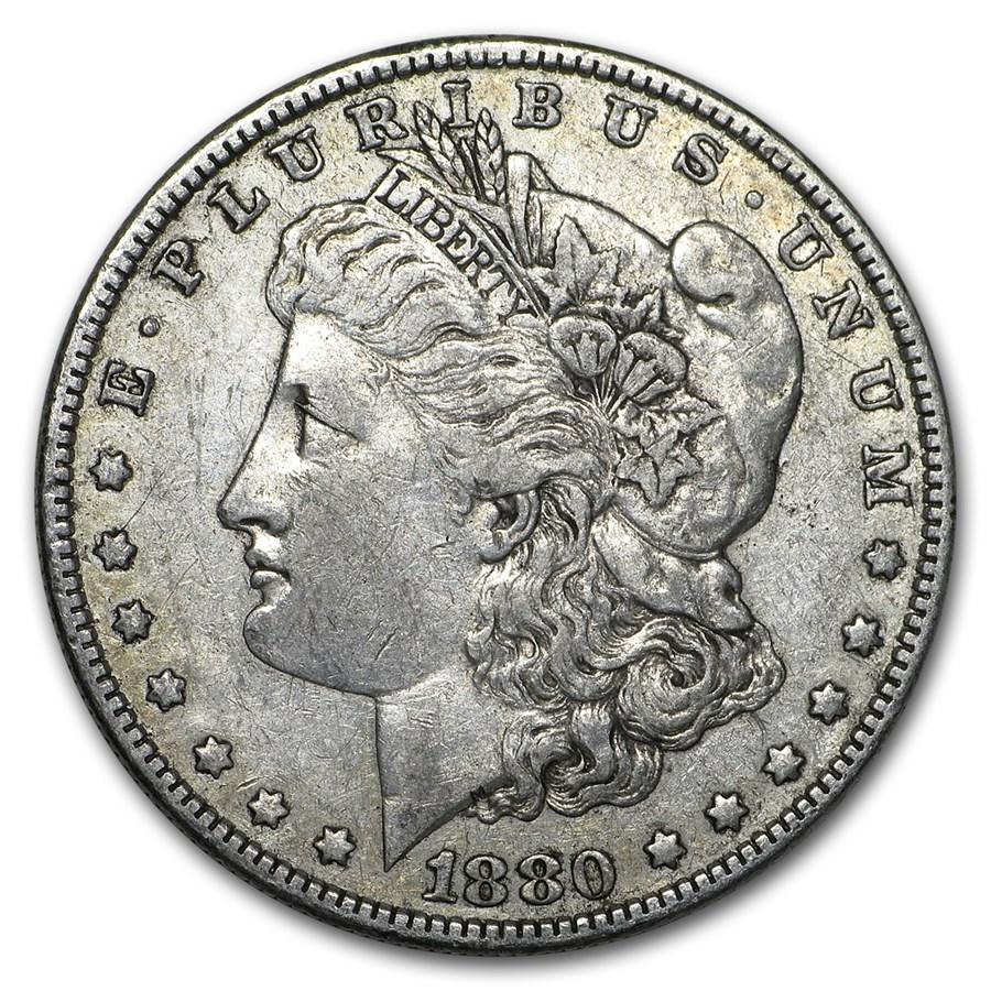 1880-O Morgan Dollar XF