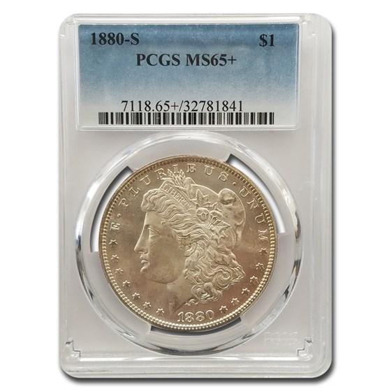 1880-S Morgan Dollar MS-65+ PCGS