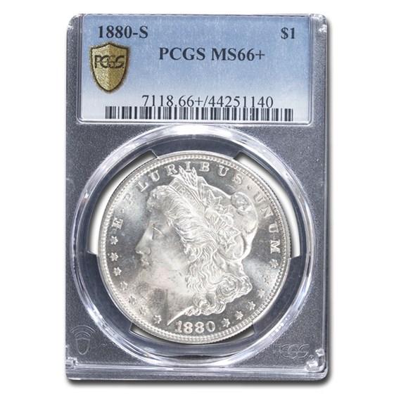 1880-S Morgan Dollar MS-66+ PCGS