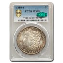 1880-S Morgan Dollar MS-68 PCGS CAC