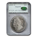 1880-S Morgan Dollar PL MS-65 PCGS CAC (Rattler )