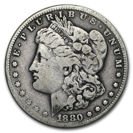 1880-S Morgan Dollar VG/VF