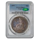 1880 Trade Dollar PR-64 PCGS CAC