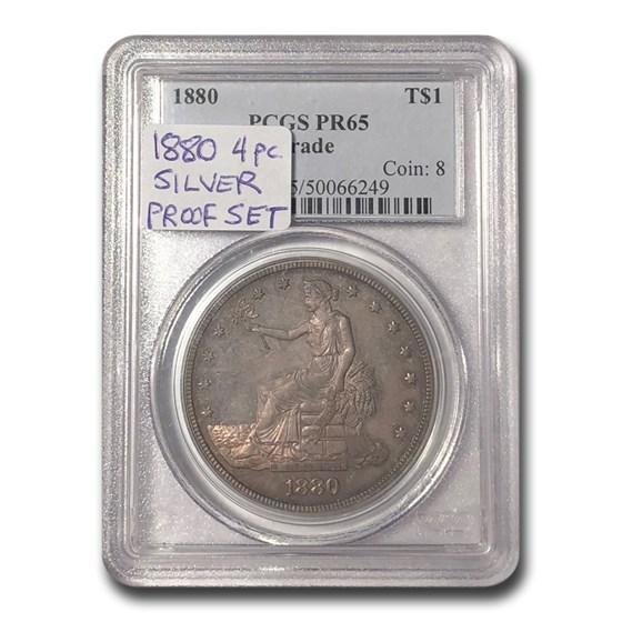 1880 Trade Dollar PR-65 PCGS