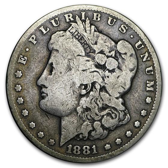1881-CC Morgan Dollar Good