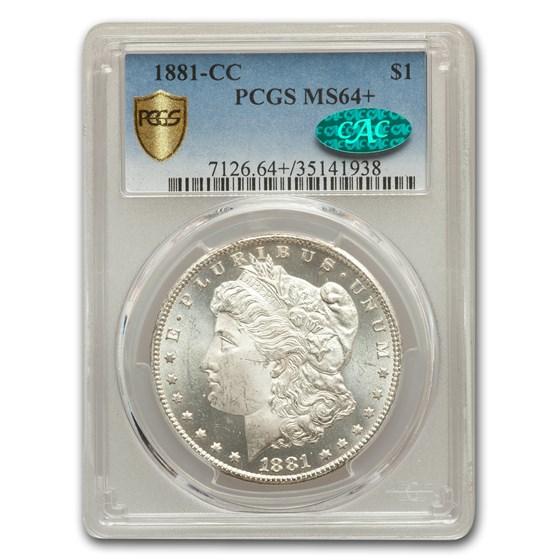 1881-CC Morgan Dollar MS-64+ Plus PCGS CAC