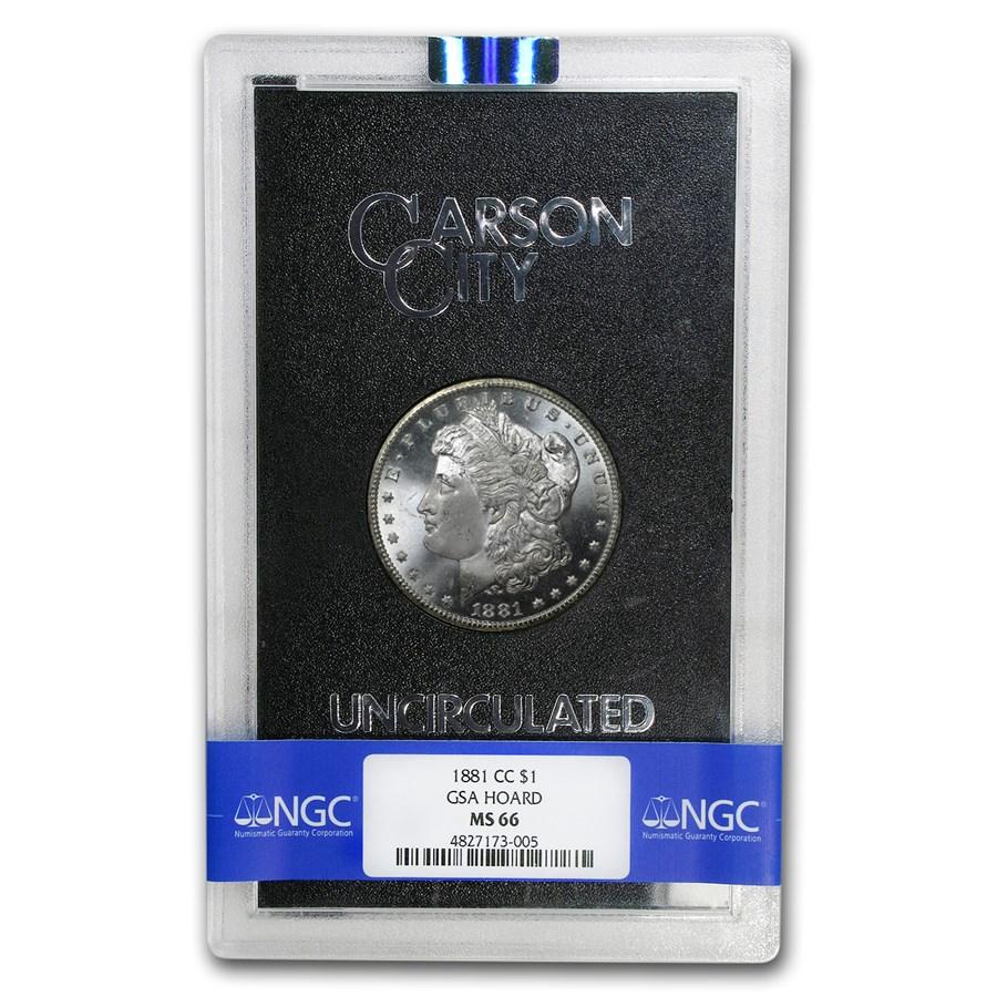 1881-CC Morgan Dollar MS-66 NGC (GSA)