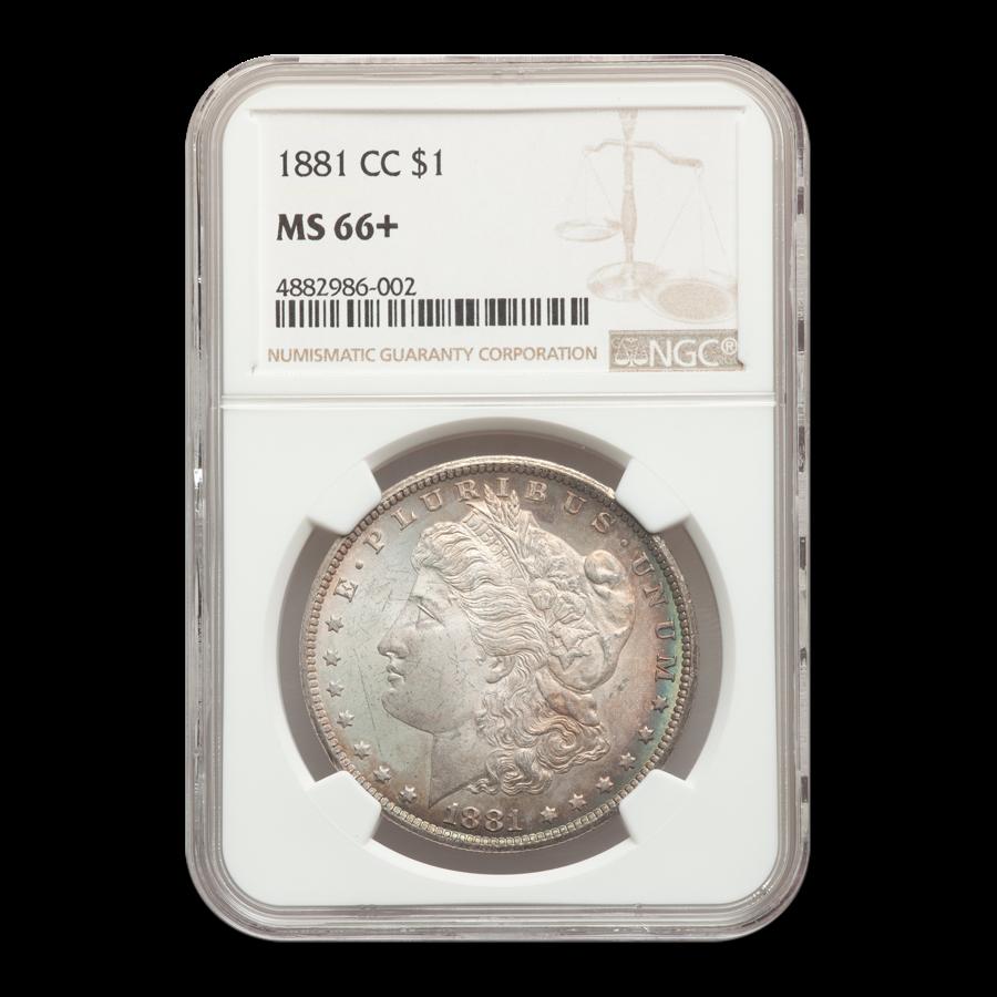 1881-CC Morgan Dollar MS-66+ NGC