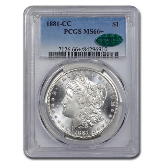 1881-CC Morgan Dollar MS-66+ PCGS CAC