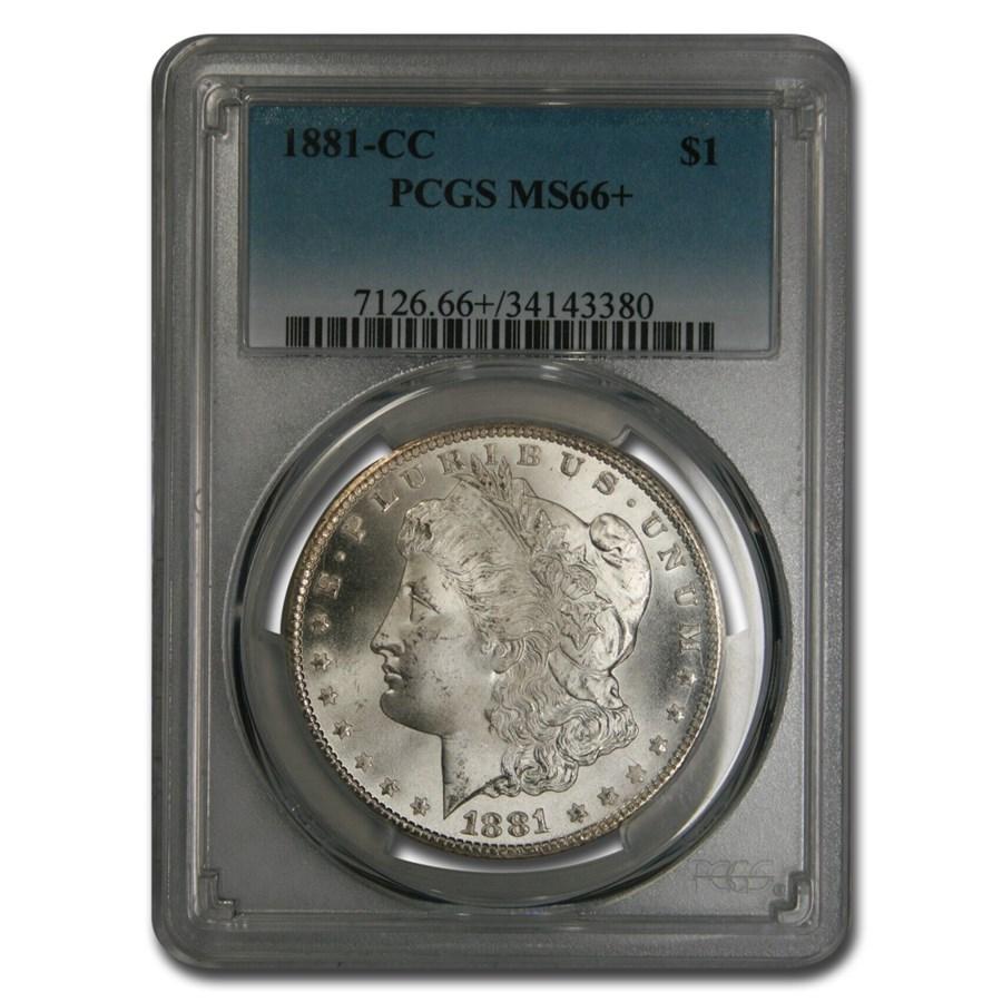1881-CC Morgan Dollar MS-66+ PCGS