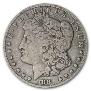 1881-CC Morgan Dollar VG Details (Scratched)