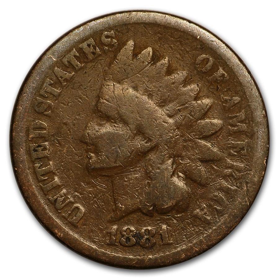 1881 Indian Head Cent Good+