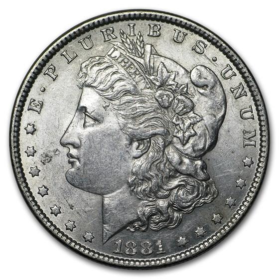 1881 Morgan Dollar AU