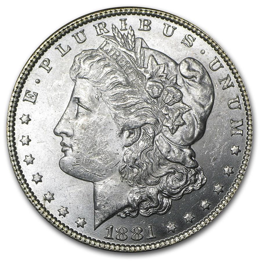 1881 Morgan Dollar BU