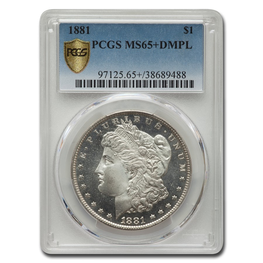 1881 Morgan Dollar MS-65+ PCGS (DMPL)