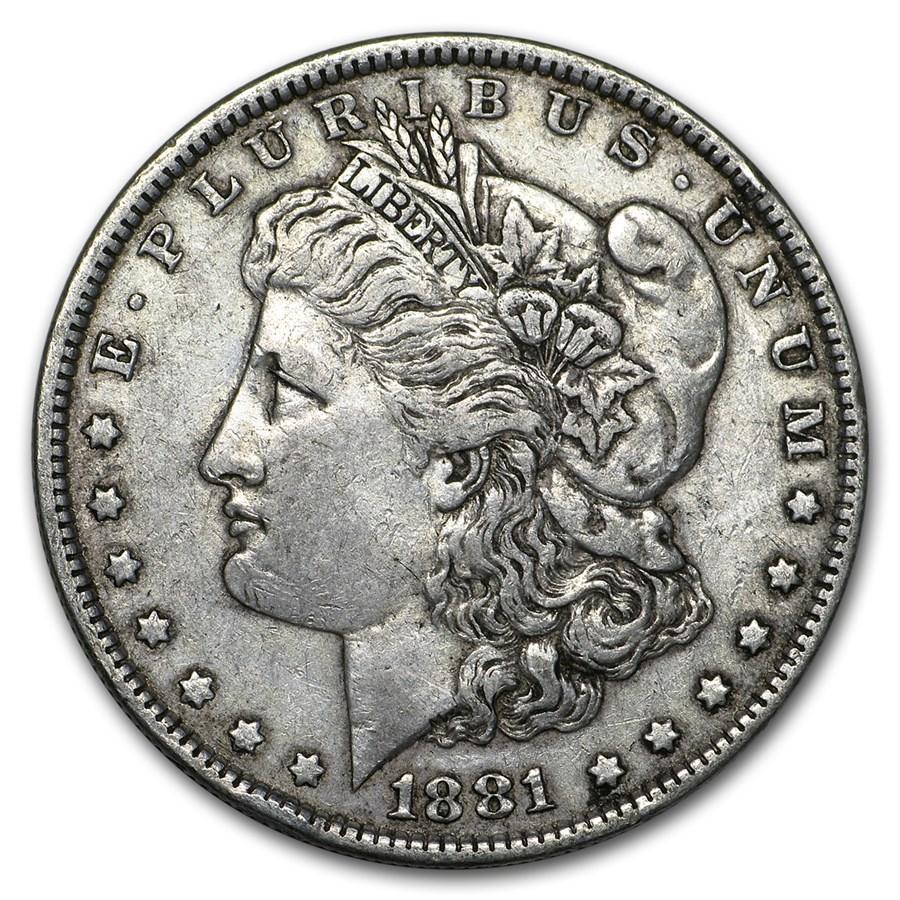 1881 Morgan Dollar XF
