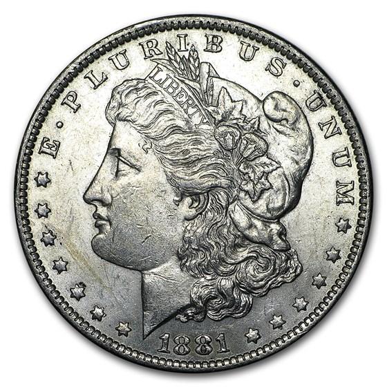 1881-O Morgan Dollar AU