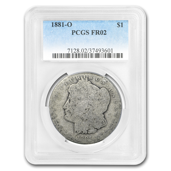 1881-O Morgan Dollar Fair-02 PCGS (Low Ball Registry)