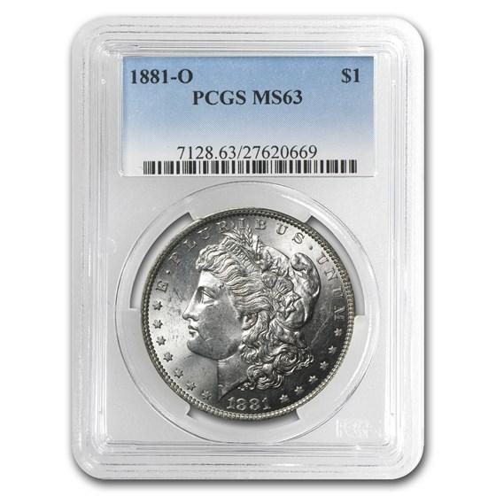 1881-O Morgan Dollar MS-63 PCGS
