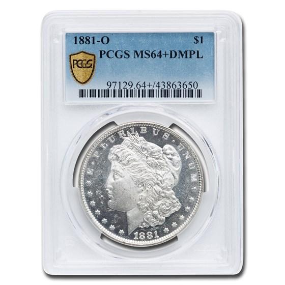 1881-O Morgan Dollar MS-64+ DMPL PCGS