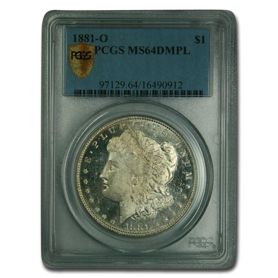 1881-O Morgan Dollar MS-64 PCGS (DMPL)