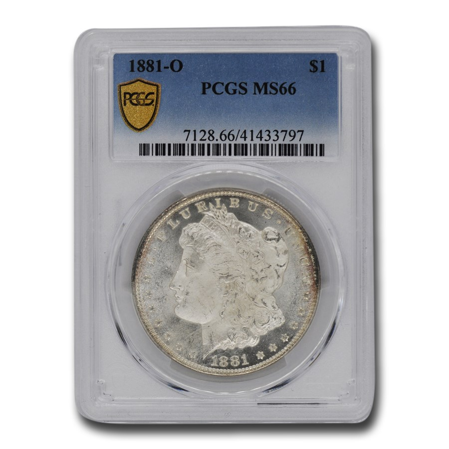 1881-O Morgan Dollar MS-66 PCGS