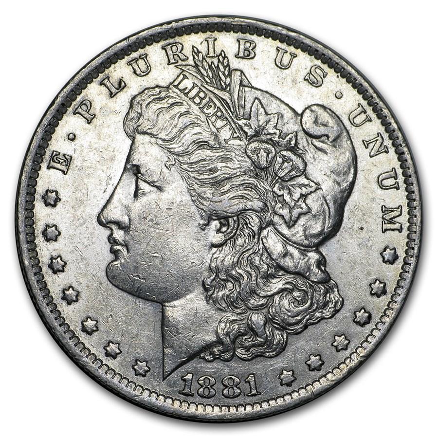 1881-O Morgan Dollar XF